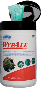 Wypall lingettes nettoyantes humide, 1 pli, 50 feuilles