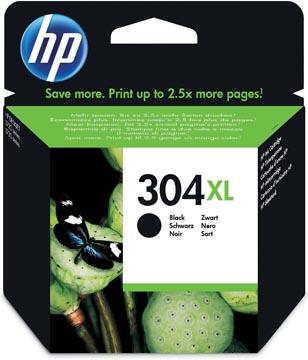HP cartouche d'encre 304XL, 300 pages, OEM N9K08AE, noir