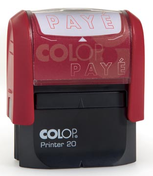 Colop cachet à formules Printer texte: PAYE
