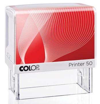 Colop cachet avec système voucher Printer Printer 50, 7 lignes max., ft 69 x 30 mm