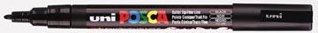 Uni-ball marqueur peinture à l'eau Posca PC-3M, noir