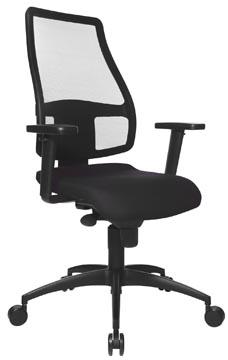 Topstar chaise de bureau Synchro Net, noir