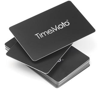 Safescan badge RFID pour les systèmes enregistrement du temps TimeMoto, paquet de 25 pièces