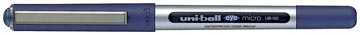 Uni-ball roller Eye Fine et Micro Micro, largeur de trait: 0,3 mm, bille 0,5 mm, bleu