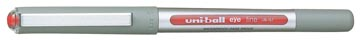 Uni-ball roller Eye Fine et Micro Fine, 0,5 mm, rouge