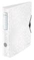 Leitz WOW classeur à levier Active, dos de 6,5 cm, blanc