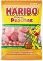 Haribo bonbons Pêches, sachet de 185 g