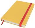Leitz Cosy carnet de notes avec couverture dûre, pour ft A5, quadrillé, jaune